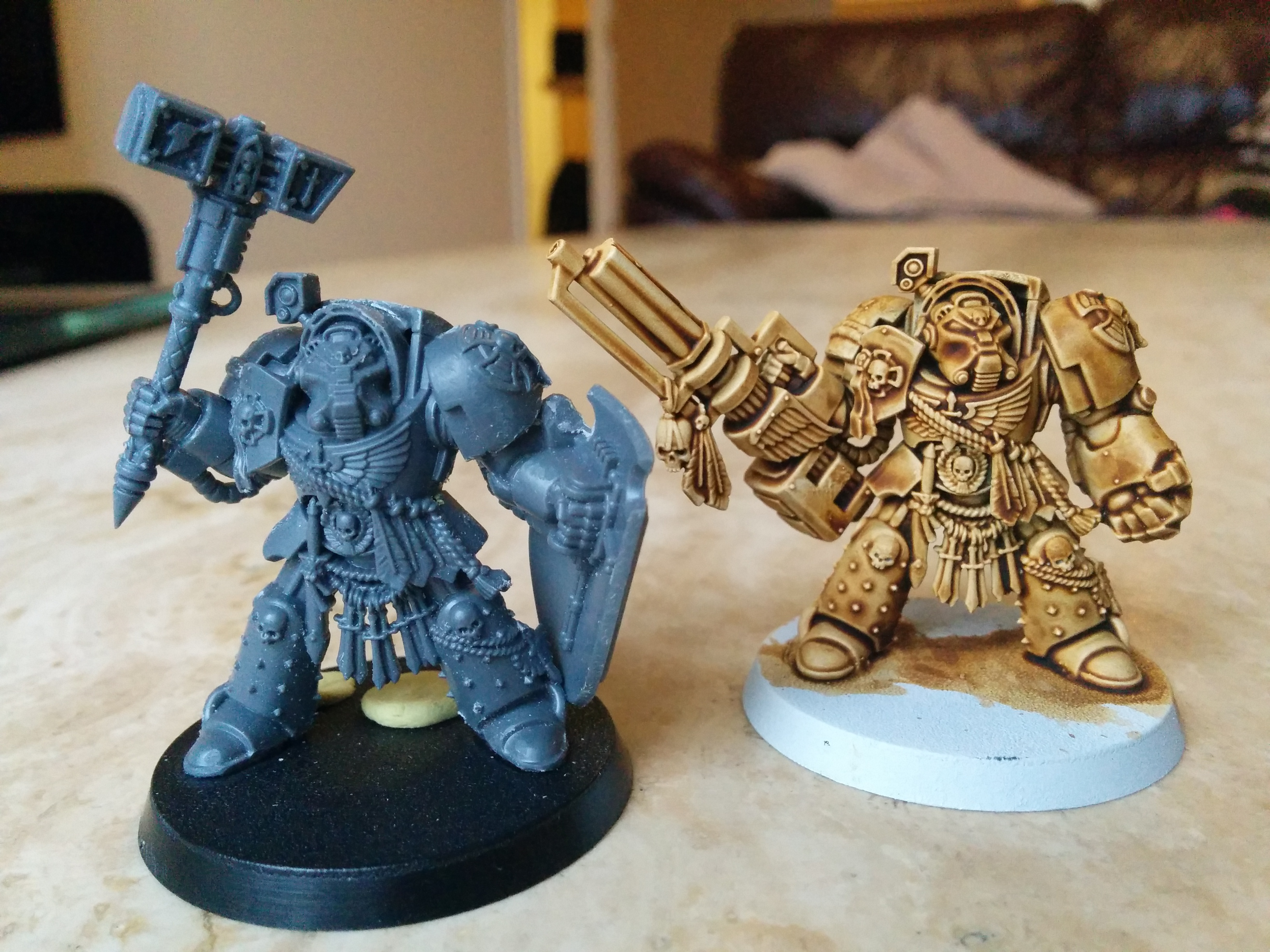 A New Project Dark Angels Space Marines Innsmouth