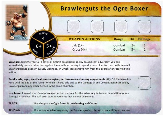 Character -Brawlerguts the Ogre Boxer