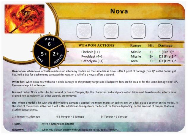 Character - Nova